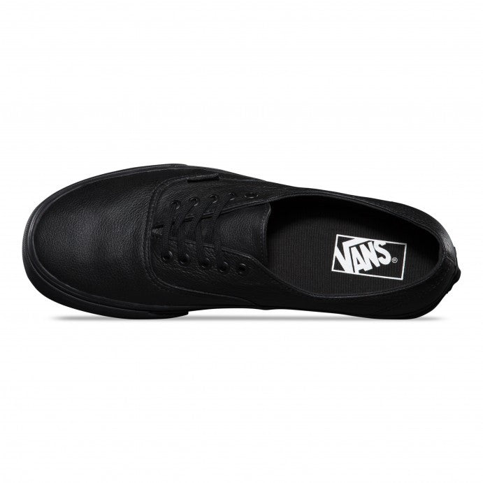 Vans Authentic Decon Premium Leather Black - Kong Online - 2