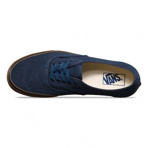 Vans Authentic Washed Canvas Blue Gum - Kong Online - 2