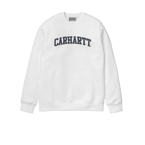 Carhartt Yale Sweat White Navy - Kong Online