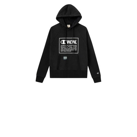 Champion x WOOD WOOD Hooded Sweatshirt Black