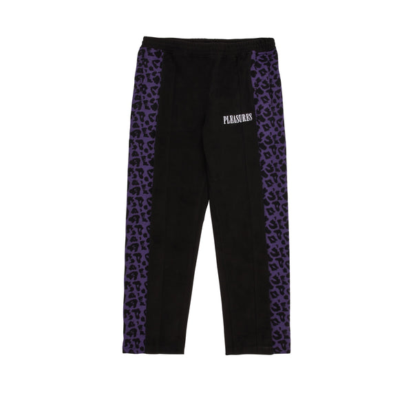 Pleasures Memories Velour Pant Black