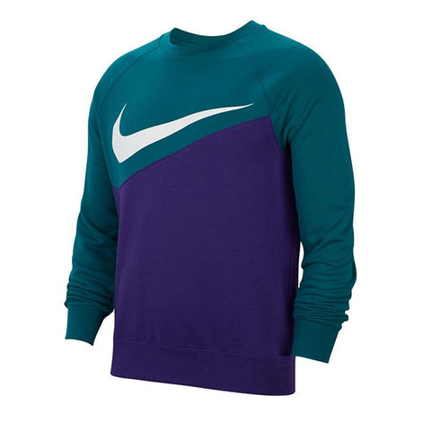 Nike Swoosh Crew Ft Court Purple Geode