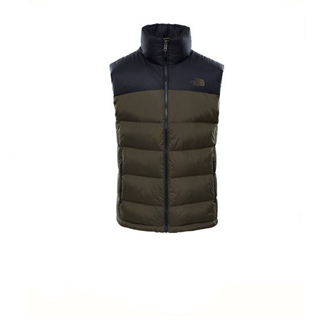 The North Face Nuptse 2 Vest TNF Black New Taupe Green