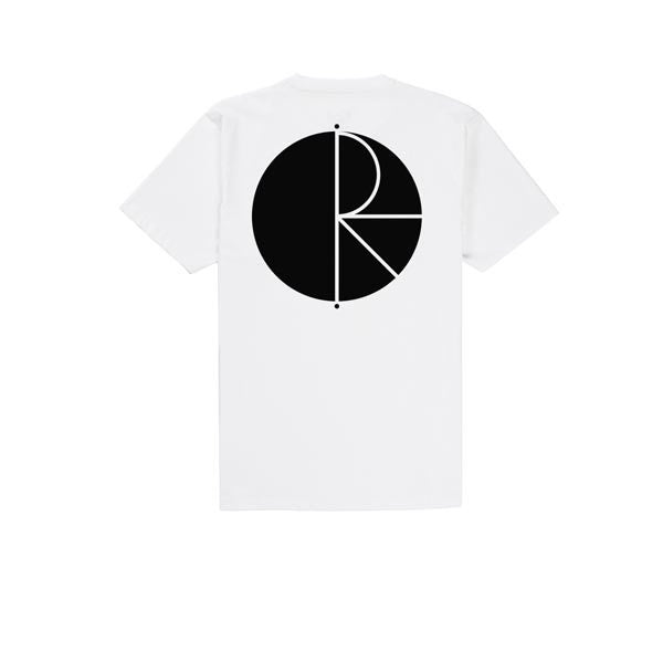 Polar Fill Logo Tee White Black