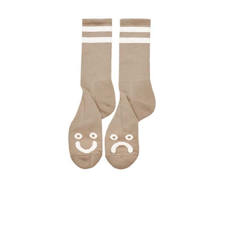 Polar Happy Sad Socks Sand