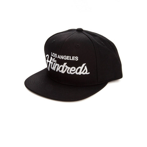 The Hundreds Forever Team Snapback Black - Kong Online - 1