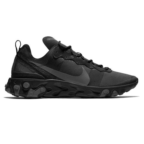 Nike React Element 55 Black Dark Grey