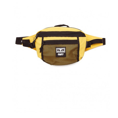 Obey Conditions Waist Bag Energy Yellow