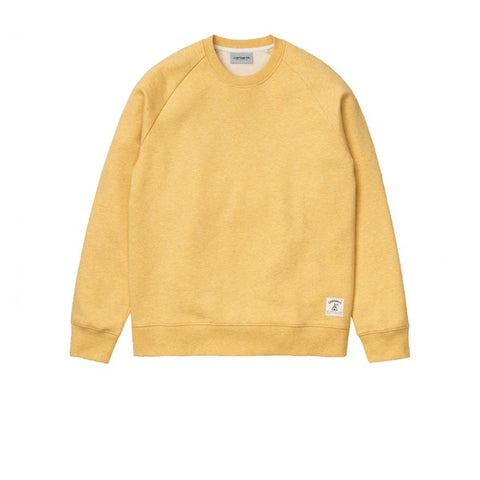 Carhartt Holbrook Sweat Maize Heather