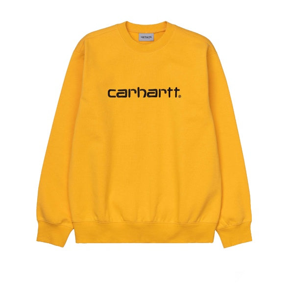 Carhartt Sweat Sunflower Black