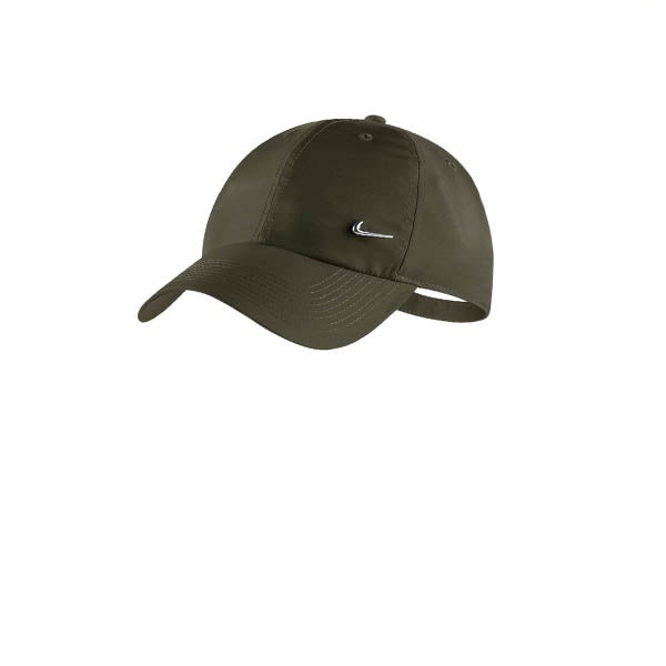 722a3332f8ce Nike Heritage 86 Metal Swoosh Cap Olive Canvas – Kong Online