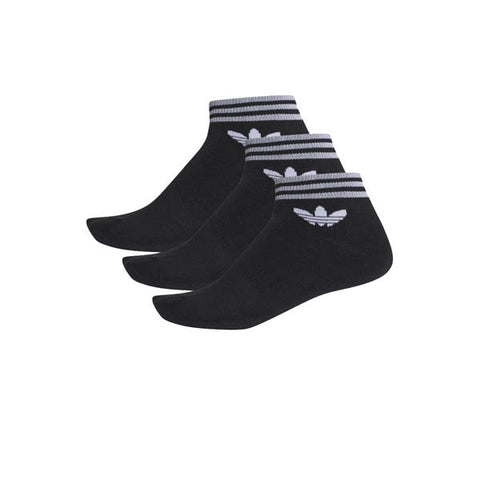 Adidas Trefoil Ankle Sock Black