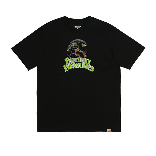 Carhartt WIP S/S Earthly Pleasures T-Shirt Organic Cotton Black