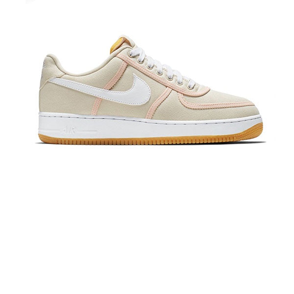 Nike Air Force 1 07 Premium Light Cream White Crimson Tint