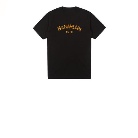 Maharishi Tiger Style T-Shirt Black Orange