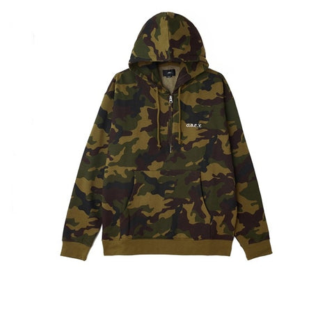 Obey Ennet Anorak Pullover Camo