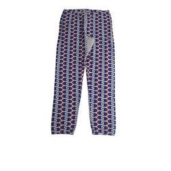 Champion Elastic Cuff Pants All Over Print Grey Heather