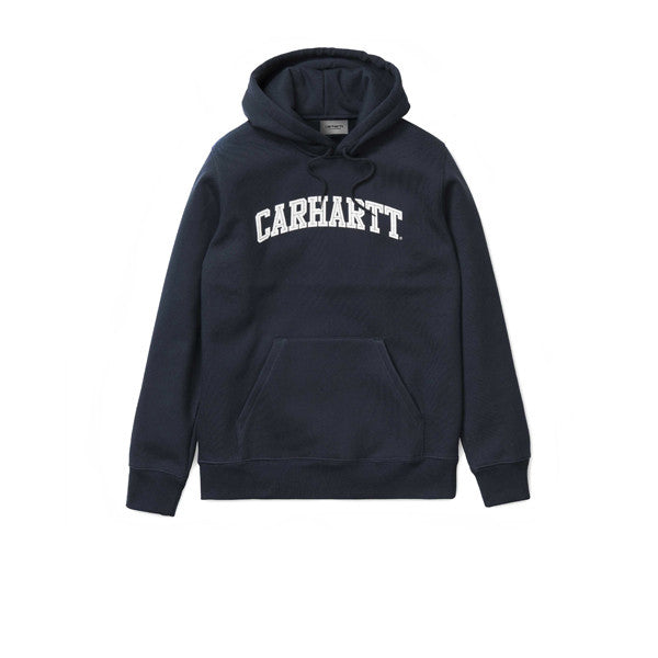 Carhartt Hooded Yale Sweat Navy White - Kong Online