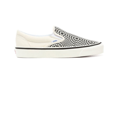 Vans Classic Slip-On (Anaheim Factory) Warp Check OG Black White