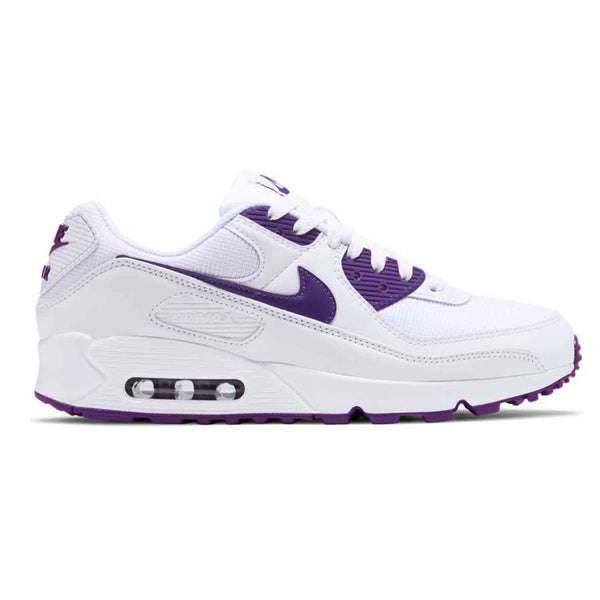 Nike Air Max 90 White Voltage Purple