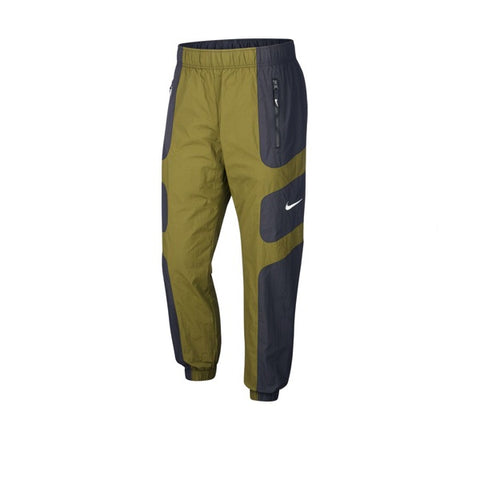 Nike Re-Issue Woven Pant Black Legion Green White