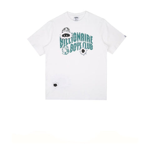 BBC Damage 2 Arch Logo T-Shirt White