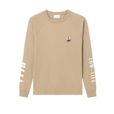 WOOD WOOD Han Long Sleeve Taupe