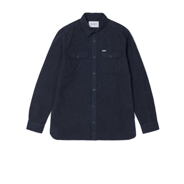 Carhartt L/S Vendor Shirt Dark Navy Heather