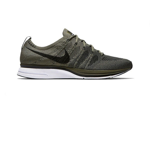 Nike Flyknit Trainer Medium Olive Black