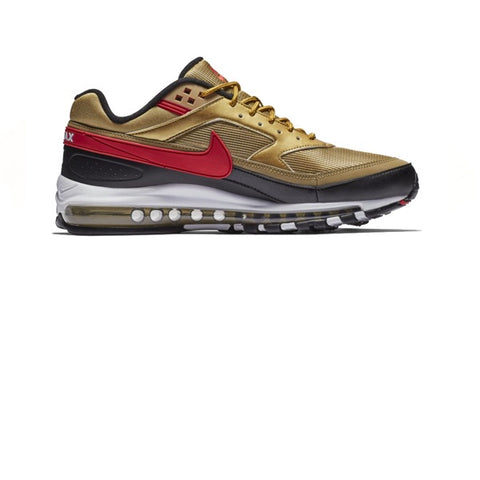 Nike Air Max 97/BW Matallic Gold University Red