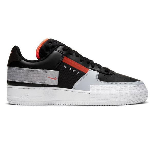 Nike Air Force 1 Type Black Hyper Crimson
