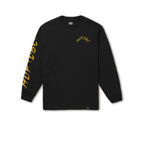 HUF Bolts L/S Tee Black