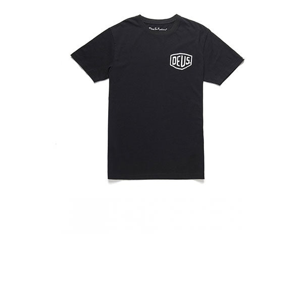 Deus S/S Milano Address Tee Black