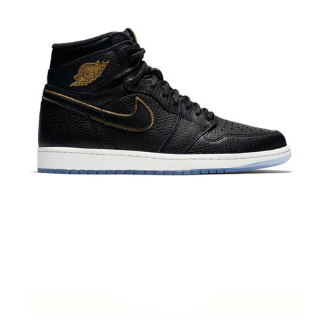 Air Jordan 1 Retro High OG Black Matallic Gold