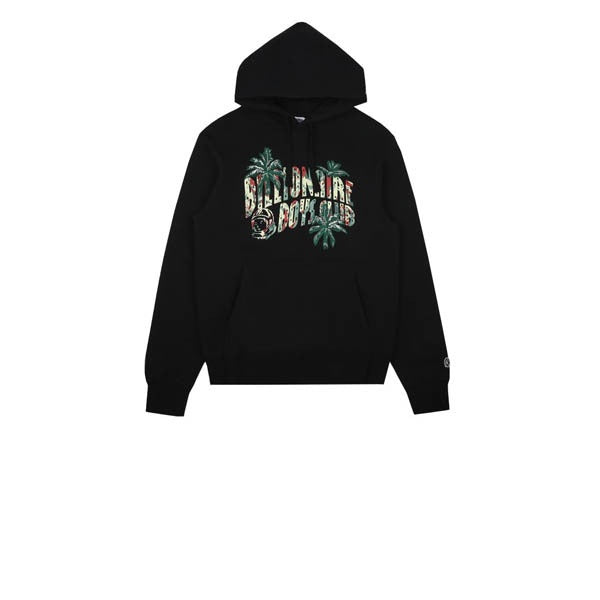 Billionaire Boys Club Palm Embroidered Popover Hood Black