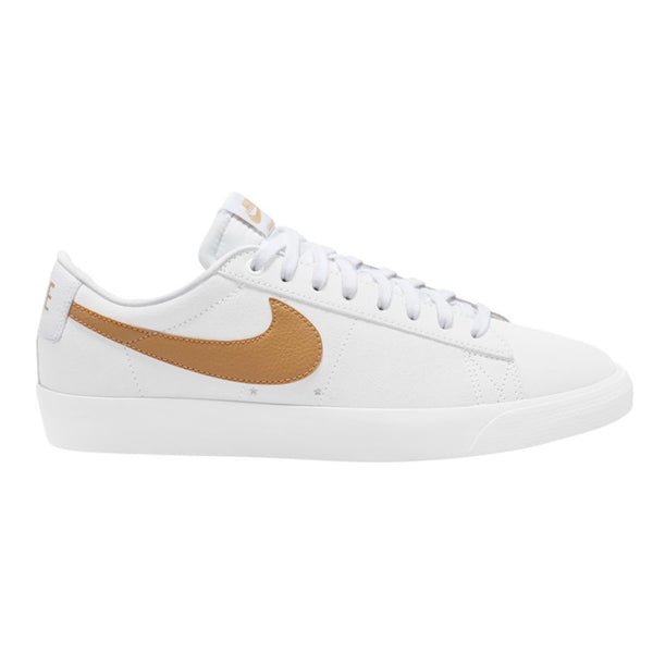 Nike SB Zoom Blazer Low GT White Club Gold