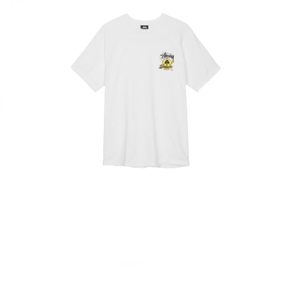 Stussy Surf Skull Pig Dyed Tee Natural