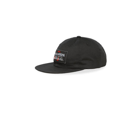 Maharishi Shattered Miltype 6 Panel Cap Black