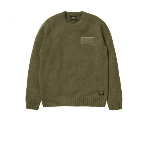 Carhartt Venom Sweater Lambswool Nylon Rover Green