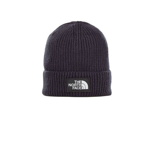 The North Face Logo Box Cuff Beanie Urban Navy