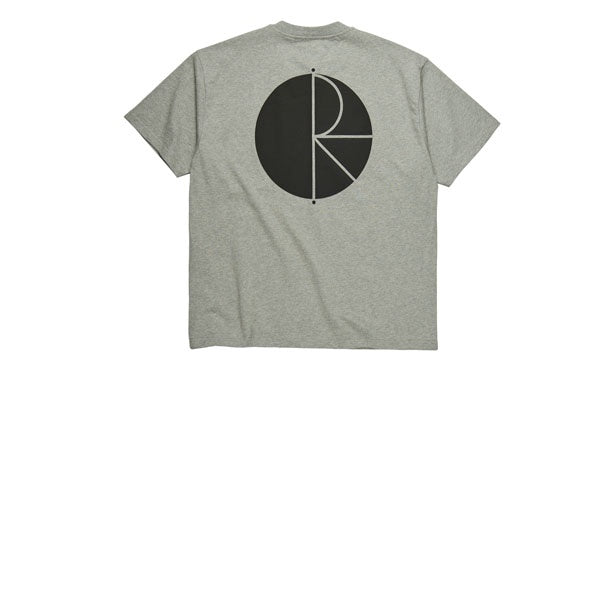 Polar Fill Logo Tee Grey Heather Black