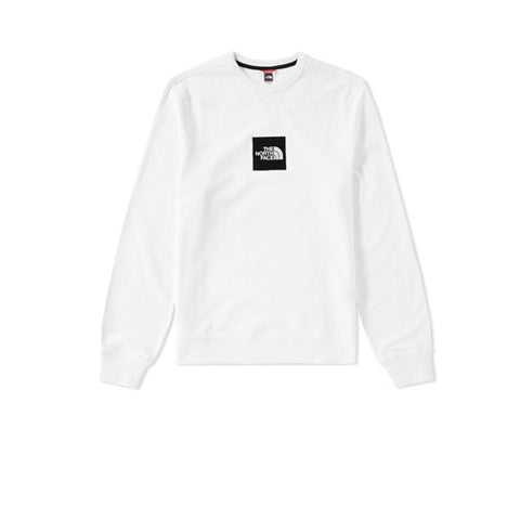 The North Face Fine Crew Sweat White - Kong Online - 1