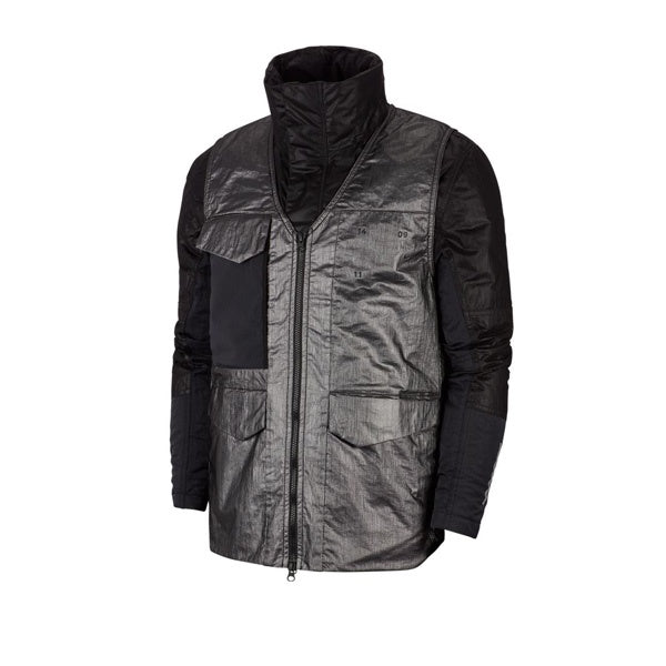 Nike Tech Pack Synthetic Fill Jacket Black Reflective Silver