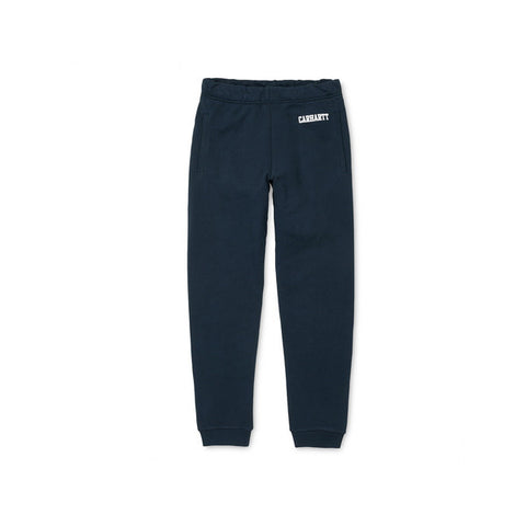 Carhartt College Sweat Pant Blue White - Kong Online
