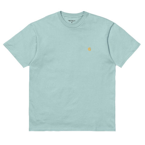 Carhartt Chase T-Shirt Soft Aloe Gold
