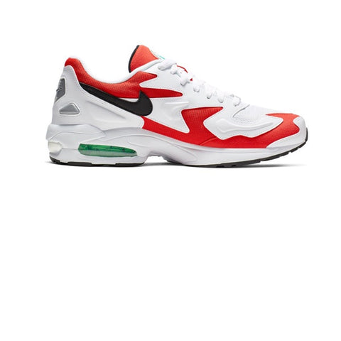 Nike Air Max 2 Light White Black Habanero Red