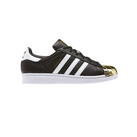 Adidas Superstar Metal Toe Black White Gold - Kong Online - 1