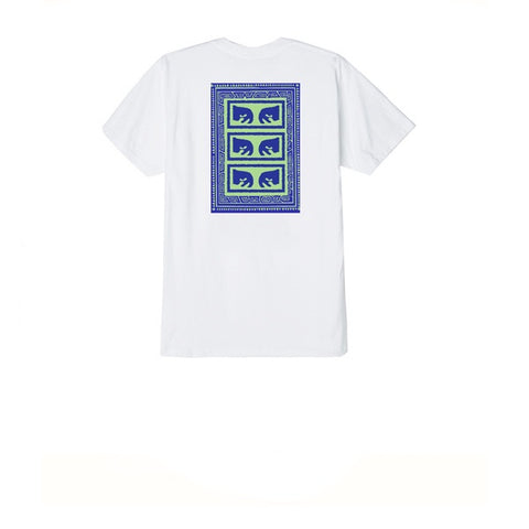 Obey Flashback Tee White