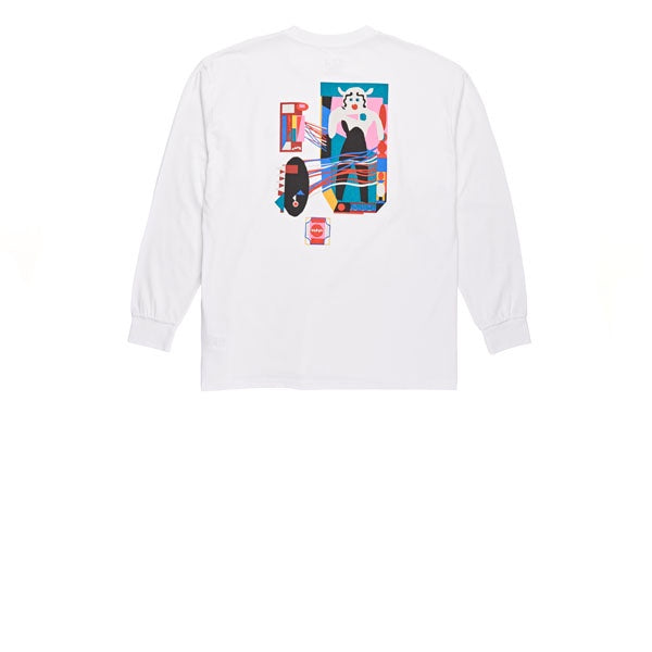 Polar Frequency L/S Tee White