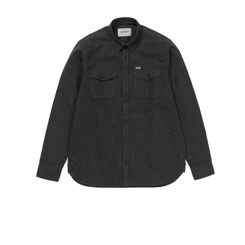 Carhartt L/S Vendor Shirt Black Heather